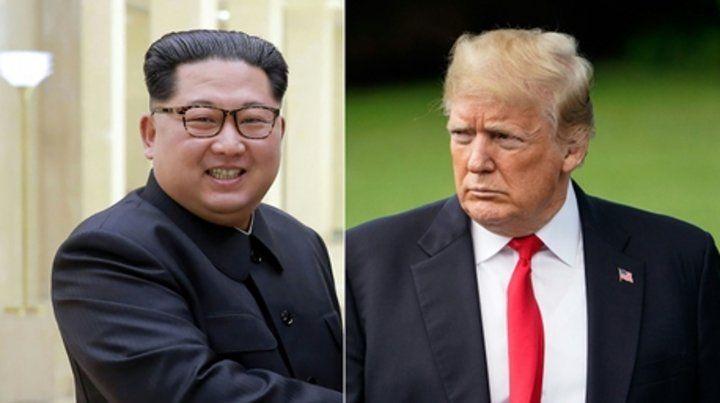 Cita Frustrada. Kim y Trump iban a encontrarse el 12 de junio en Singapur.