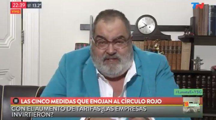 Lanata criticó al gobierno: Salimos del problema cambiario, no de la crisis
