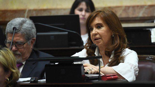 Cristina se suma apoyará la legalización del aborto en el Senado