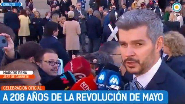 La Patria se celebra en cada rincón y no sólo con movilización, dijo Peña
