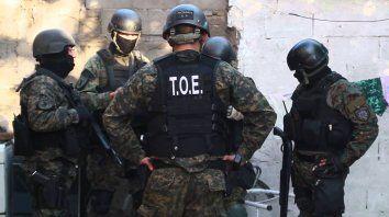 La TOE detuvo a un sospechoso de haber asesinado a un policía en Córdoba