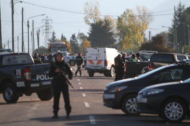 El agresor fue atrapado cuando se escapaba por la ruta provincial 82