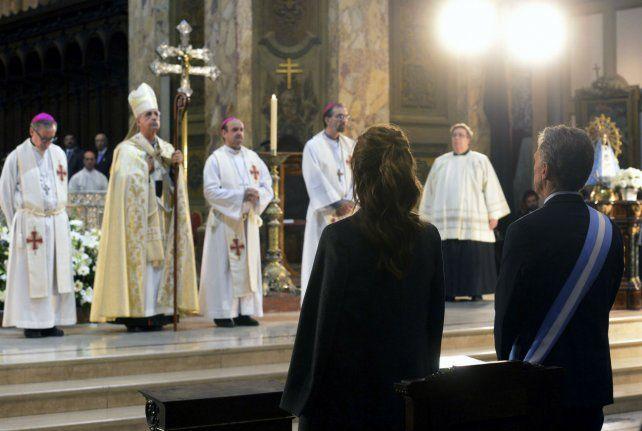 Liturgia. Macri y Awada