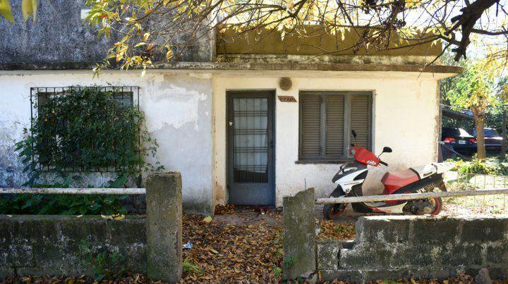 La casa donde vivía solo Carlos Alberto Calavera Favaro