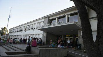 La víctima está internada en el Hospital Eva Perón