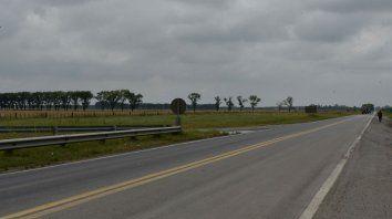 El accidente se produjo en jurisdicción de Luis Palacios.
