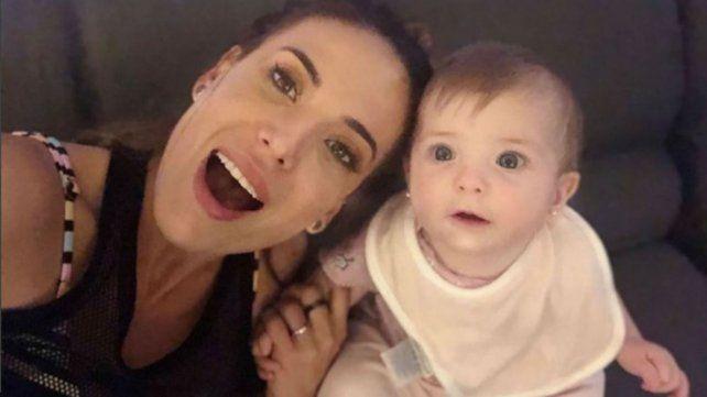 Jésica Cirio se mostró súper feliz junto a su hija