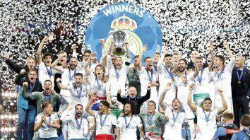 La Champions fue otra vez para Real Madrid