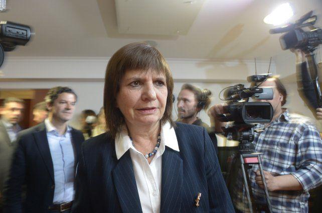 Bullrich: Los jueces deben acompañar más el esfuerzo operativo y los allanamientos