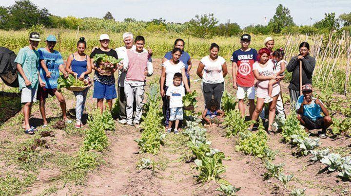 La huerta La Rosarina Linda pasará a ser una granja agroecológica.
