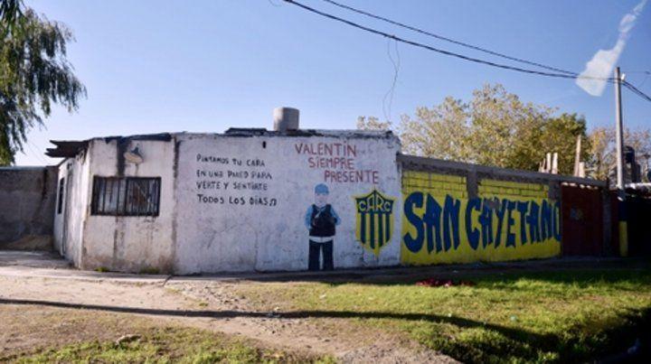 El lugar donde mataron a Emiliano Villalba