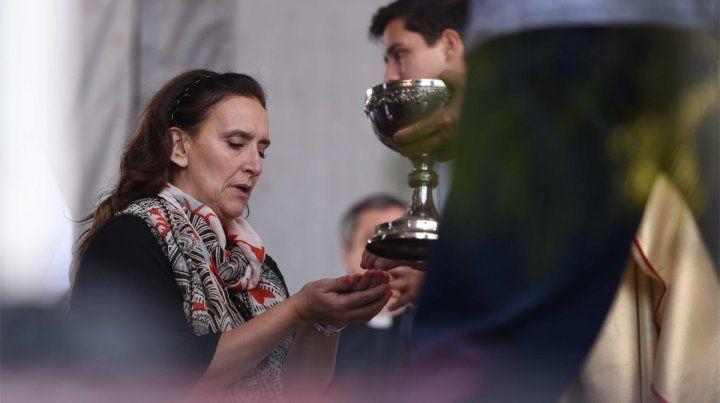 Michetti participó del cierre del Encuentro Nacional de Juventud en Rosario