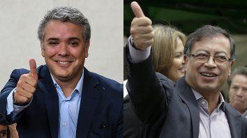 Duque y Petro van a segunda vuelta por la presidencia de Colombia