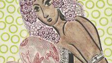 Ramona Montiel. Las fotos, xilografías y dibujos de Berni representan el universo femenino en los prostíbulos.