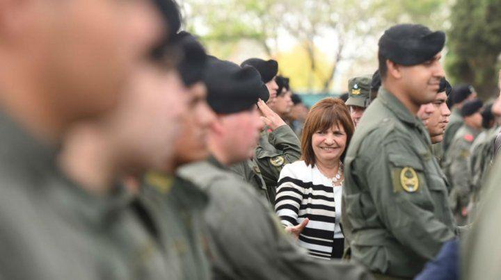 Bullrich dijo que no puede haber en Rosario espacios copados por el narcotráfico