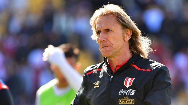 Ricardo Gareca tendrá su chance conduciendo al seleccionado de Perú.