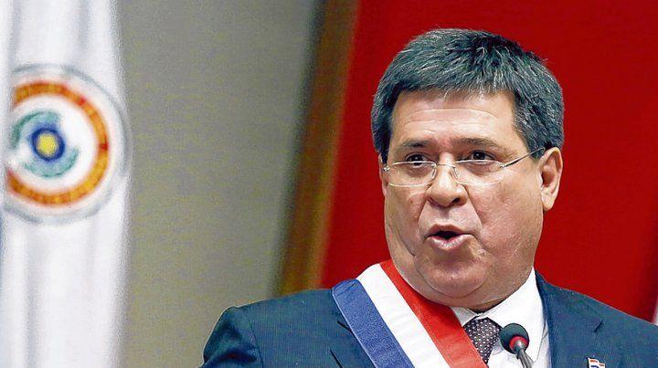 Jugada. Cartes buscaría mantener el poder real en Paraguay luego de dejar la Presidencia.