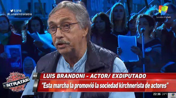 Si habría elecciones el domingo, ganaría Macri, dijo Brandoni