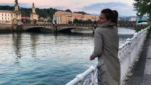 Eugenia Tobal viajó a España y Francia con su nuevo novio