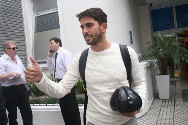 Gonzalo Bettini se hizo la revisión médica y ahora pondrá la firma