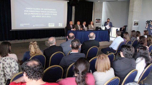 La Agencia Provincial de Seguridad Vial presentó los resultados del estudio.