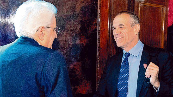 Fallidos intentos. El presidente Mattarella recibe al encargado de formar gobierno. Hoy volverán a reunirse.