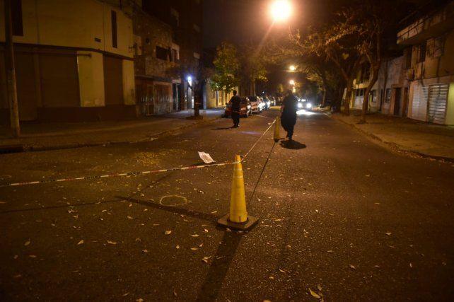 El ataque se produjo en Italia entre Cerrito y Riobamba a pocos metros de la comisaría 5ª.