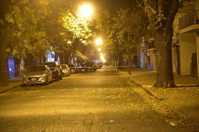 El ataque sicario se produjo a metros de la comisaría 5ª, donde hubo un gran despliegue.