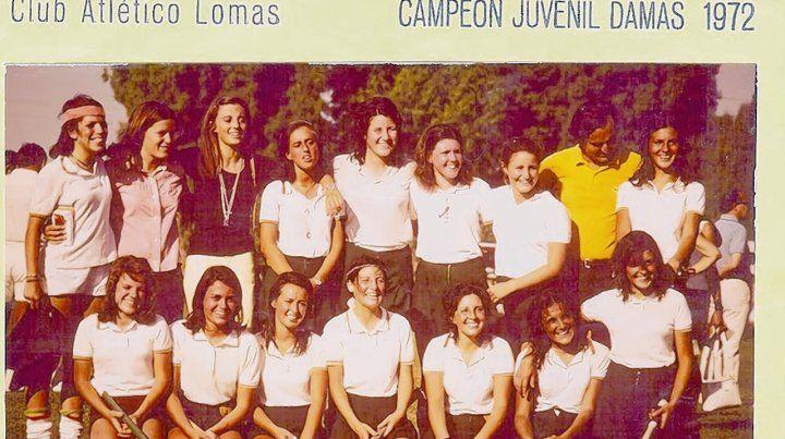 Campeonas. Adriana Acosta(abajo