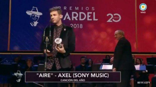 Todos los ganadores de la gala de los Premios Gardel