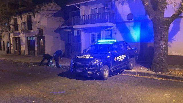 Policía levantan las vainas servidas en Italia al 2100.