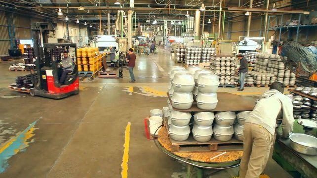 La fábrica de ollas Essen de Venado Tuerto.