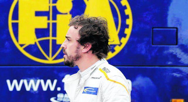 Alonso. El futuro del corredor de Mc Laren podría estar lejos de la Fórmula 1.