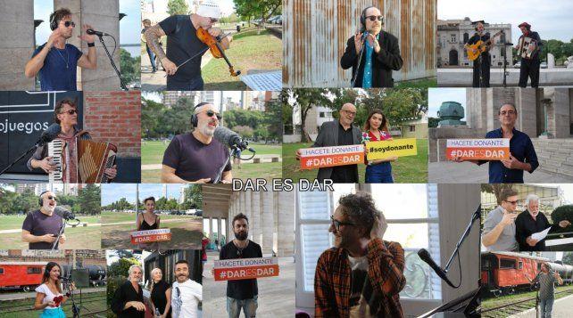 Dar es dar, el videoclip de la campaña por la donación de órganos