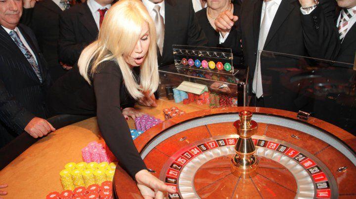 Susana viene al Casino a jugar con los rosarinos