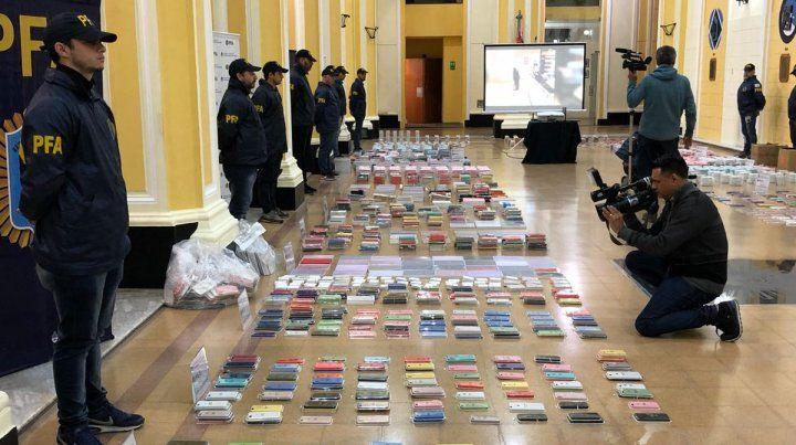 Millonario secuestro de mercadería apócrifa en diversos shoppings del país