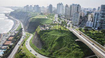 La gran capital. La Costa Verde, en Lima, uno de los nuevos atractivos de una ciudad que ya es destino mundial por la calidad de su gastronomía.