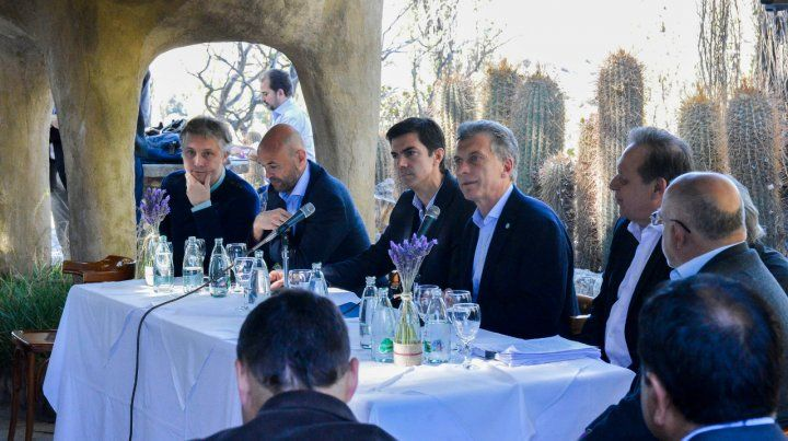 De gira. El presidente Macri visitó Salta