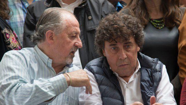 A fondo. Yasky y Micheli llevan la lucha obrera a las calles.