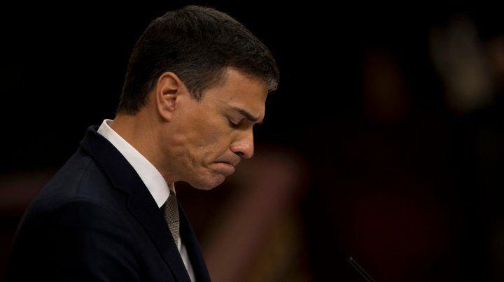 Cuando el líder del PSOE volvió a ingresar al Congreso