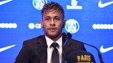 neymar fue excluido del entrenamiento