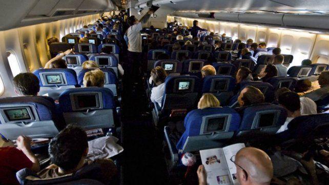 Una pasajera murió en pleno vuelo a Brasil.