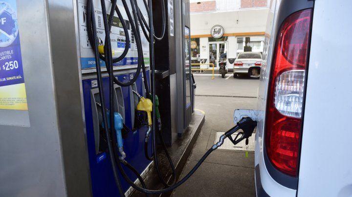 Peligra el abastecimiento de combustible en algunas estaciones de servicio.
