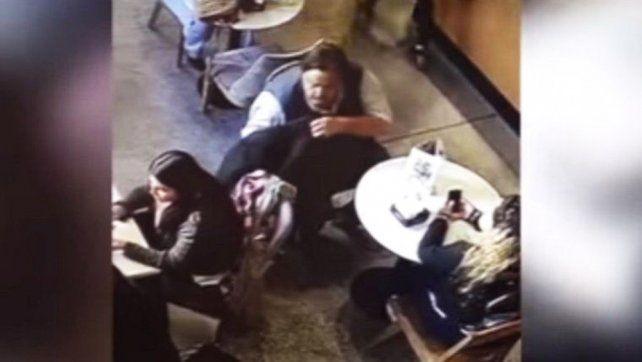 La pareja. El chileno y la mujer que lo acompañó en varios de los robos.