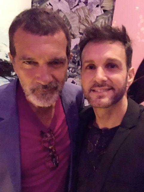 El actor y el cantante, juntos en proyectos.
