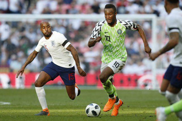 Nigeria, rival de Argentina, cayó ante Inglaterra en un amistoso