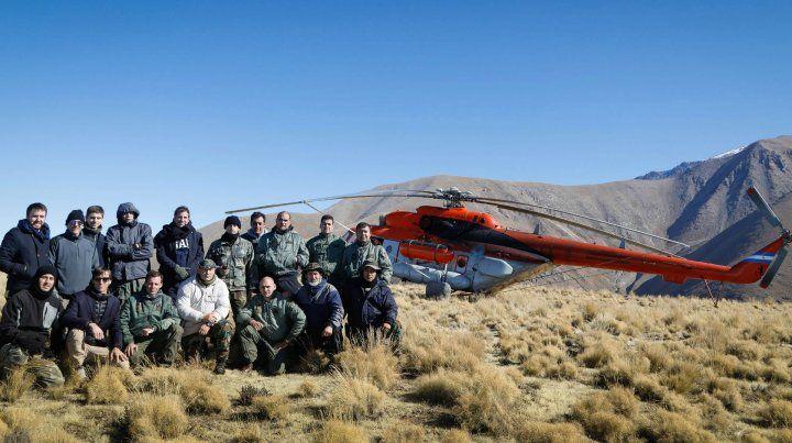 Rescataron a la comitiva presidencial que quedó varada en un cerro