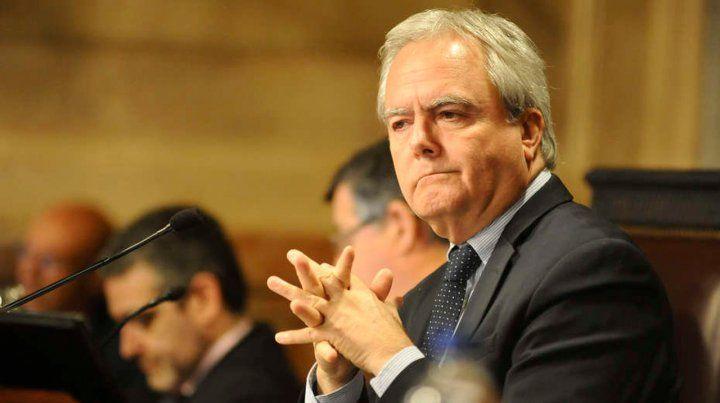 Senador. Pinedo negó que la iniciativa sea una revancha para exponer al bloque de Pichetto.