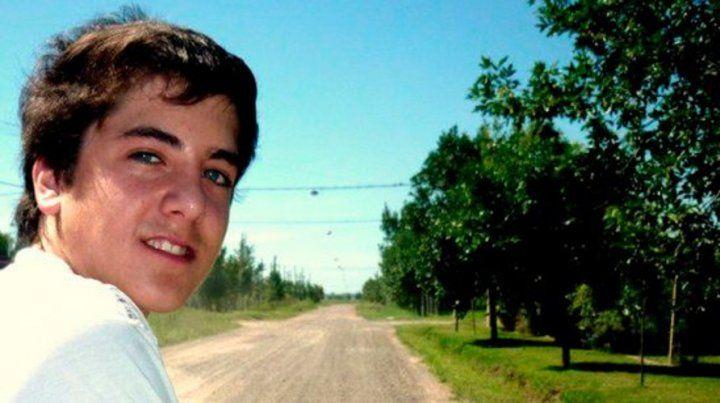 Víctima. Fabricio Zulatto tenía 21 años cuando lo mataron en 2016.