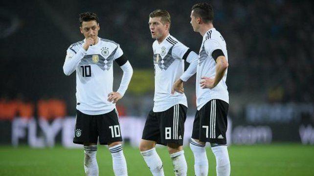 Desazón. Los alemanes no le encuentran explicación a la derrota.